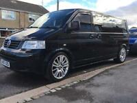 VW transporter T5 2.5 TDI t30 LWB Auto, low mileage engine, Sought after spec,