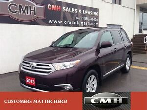 2013 Toyota Highlander 4X4 **ONLY $224.88 PAYMENT B/W *CERTIFIED