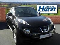 Nissan Juke VISIA (black) 2014-04-30