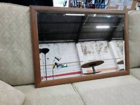 Rectangle wall mirror available in store