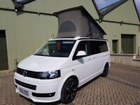 Volkswagen,T5.1 Transporter camper van with California electric elevating roof