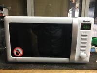 Swan microwave with grill
