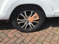 """AL-KO WHEEL LOCK TO FIT 15"""" wheel"""