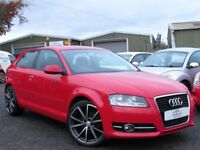 2011 AUDI A3 2.0 TDI SPORT 3 DR 74521 MILES FULL SERVICE HISTORY 1 YEAR MOT IMMACULATE ORDER
