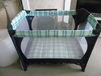 PLAYPEN GOOD CONDITION AND CLEAN WITH STORAGE CASE.