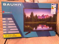 """Bauhn 24"""" 12v/240v Full HD TV DVD Freeview Motorhome Caravan Boat - Have 15 TV's for sale"""