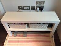 IKEA LACK TV Bench in White