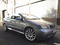 Vauxhall Astra 2005 2.2i 16v 2 door CONVERTIBLE, HUGE SPEC, LOW MILES, LEATHER, BARGAIN