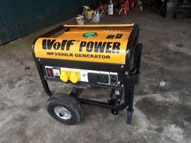Petrol generator 3500 watt