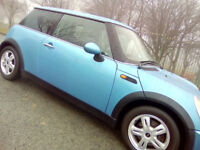 2005 MINI ONE, 67,000 GEN MILES ! 10 MONTHS M.O.T £100'S RECENTLY SPENT, WILL CONSIDER PART EXCHANGE