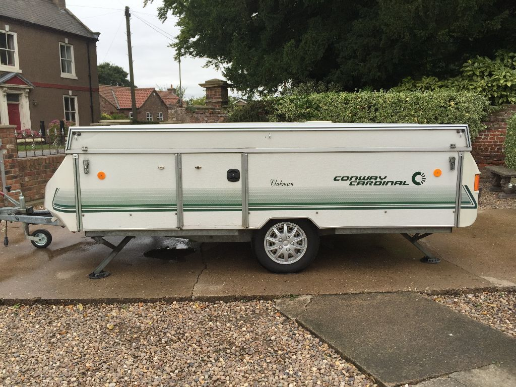 CONWAY CARDINAL CLUBMAN HARD TOP FOLDING CAMPER TRAILER TENT AWNING ANNEXE UNDER FLOOR