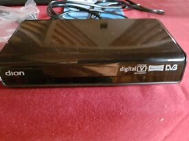 Dion Digital Freeview Set Top Box With Twin Scart - Model STB2AW09+
