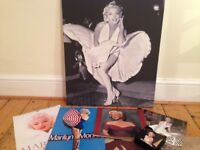 Marilyn Monroe Canvas and other collectables