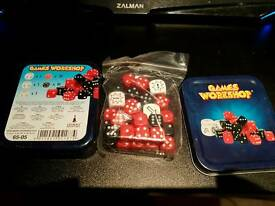 Warhammer dice / games workshop