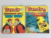 Vintage Dandy comics 1980s