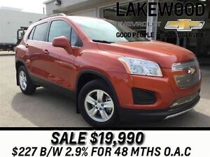 2014 Chevrolet Trax 1LT AWD (Tinted Windows, Bluetooth)
