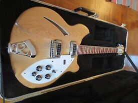 Rickenbacker 360 12 string electric guitar - Maple Glo- USA - 2004 - Minter