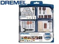 Dremel 100 Piece Multi-Purpose Accessory Set(723) for Grinding, Polishing, Cutting, Sanding, etc.
