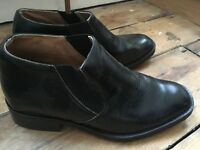 For men to appear TALLER (+ 5cm) — Size 7 UK — formal black shoes
