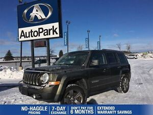 2015 Jeep Patriot Sport/North | AWD | Heated Leather | Sunroof