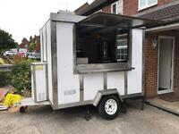 Catering Trailer / Burger Van / Snack Bar - with all equipment to get going