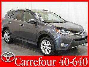 2014 Toyota RAV4 Limited AWD Cuir+Navigation+Camera+Bluetooth+To