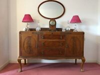 1920's Sideboard and Mirror