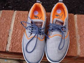 Grey Quicksilver Shoes | Size 6