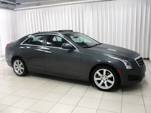 2014 Cadillac ATS SPORTY AND FUN TO DRIVE SEDAN WITH LEATHER INT