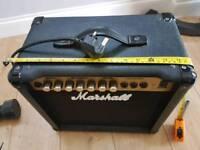 Marshall G15RCD practise amp