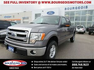 2014 Ford F-150 XLT 4X4 CREW KEYLESS ENTRY/KEYPAD
