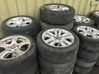 Mercedes & BMW Alloy Sets (Cheap)