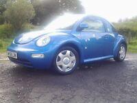 Volks wagen vw beetle 2litre petrol. Cheap car. (Not ford Peugeot citroen vauxhall mazda fiat Toyota