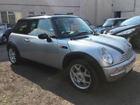 MINI Cooper 1.6 3dr - 2001, Full History, 12 MONTHS MOT, New Clutch, Panoramic Roof, Leathers, £2195