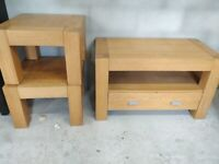 TV unit and coffee tables
