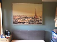 Large picture of Paris (in excellent condition) dims approx 1600 x 1300