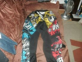 CHILDS MOTOCROSS SUIT