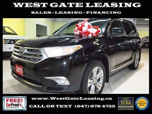 2011 Toyota Highlander SPORT | LEATHER | DVD | CAMERA |