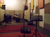 Rehearsal Room Practice room from £23 3hrs