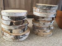 16 Wooden logs for sale