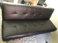 3 seater sofa bed.