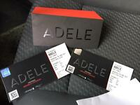 Adele tickets x2 wembly 28th june