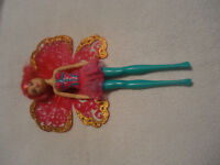 Barbie fairy doll with wings