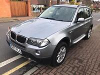 FACELIFT STUNNING CONDITION 2007 BMW X3 2.0 DIESEL SE,DRIVES SUPERB,LOW MILEAGE 97K FULL HISTORY