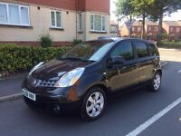 NISSAN NOTE AUTOMATIC,NICE DRIVE,7 MONTHS MOT,CALL ME 07440631513