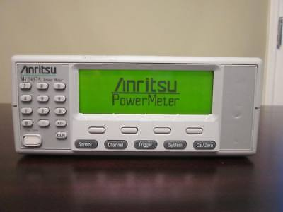 Anritsu Ml2437a Single Channel High Accuracy Power Meter 10 Mhz - 110 Ghz
