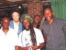 REGGAE FUNCTION BAND AVAILABLE