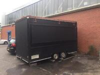 CATERING TRAILER FOR SALE; 15x7, USED AT TWICKENHAM STADIUM AND THE OVAL