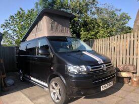 VW T5 Camper Van - low mileage - 5 seater - 4 berth