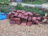 Terracotta colour house tiles (bulk lot)